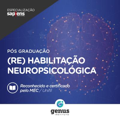 Especialização em Reabilitação Neuropsicológica EAD