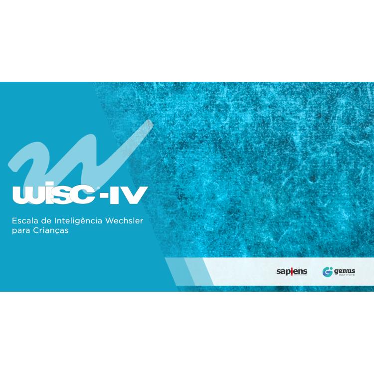 WISC IV - Escala Wechsler de Inteligência para Crianças - Kit