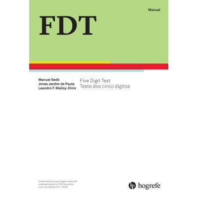 FDT- Teste dos Cinco Dígitos - Kit