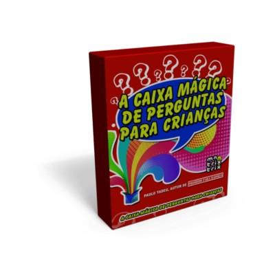 A Caixa magica de perguntas para crianças