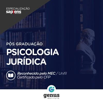 Especialização em Psicologia Jurídica - EAD