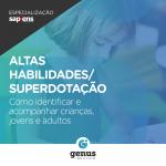 Especialização em Altas Habilidades/Superdotação