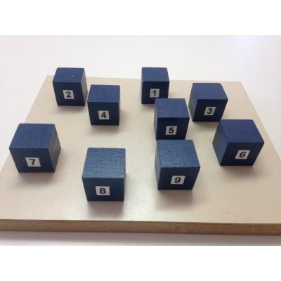 Cubos de Corsi Azul