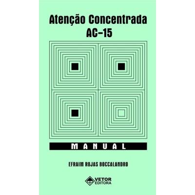 AC 15 - Teste de Atenção Concentrada - Kit