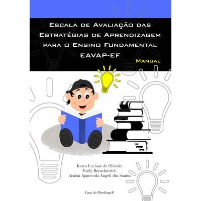 EAVAP-EF - Escala de Avaliação das Estratégias de Aprendizagem para o Ensino Fundamental - Kit