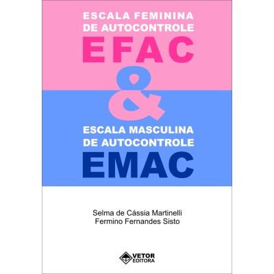 EFAC/EMAC -Escala Feminina de Autocontrole/Escala Masculina de Autocontrole - Kit