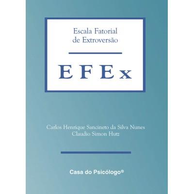 EFEX - Escala Fatorial de Extroversão - Kit