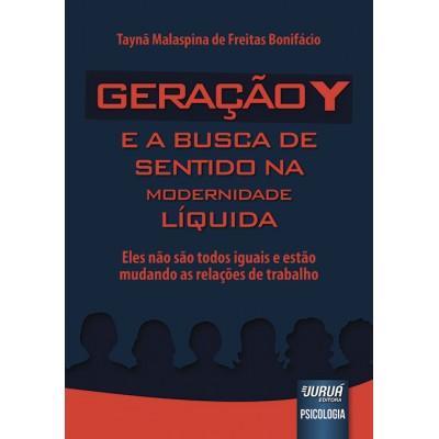 Geracao Y e a Busca de Sentido na Modernidade Liqu