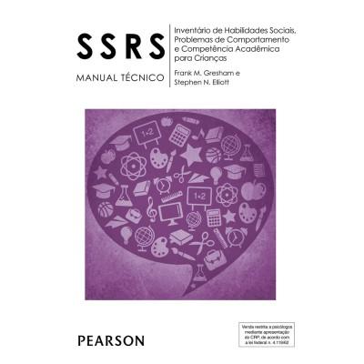 SSRS - Inventario de Habilidades Sociais, Problemas de Comportamento e Competência Acadêmica para Crianças - Kit