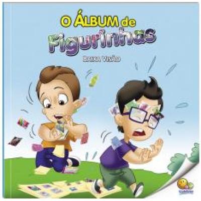 Album de figurinhas, O - Baixa visao