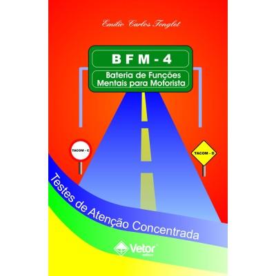 BFM-4 - Teste de Atenção Concentrada - Kit