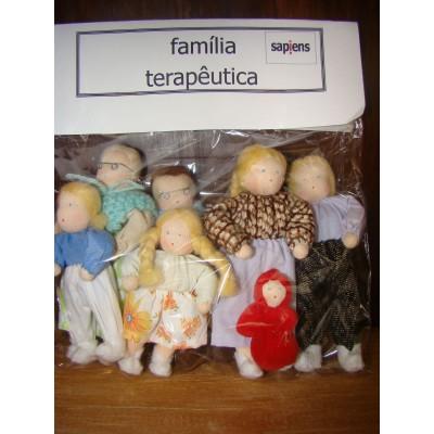 Familia terapeutica - branca simples (Monte Azul)