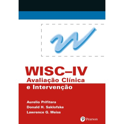 WISC IV - Avaliacao clinica e intervencao livro